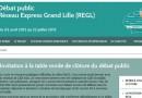 Débat public concernant le Réseau Express Grand Lille