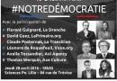 Débat autour de #NotreDémocratie avec ReGénération