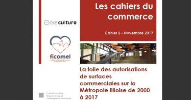 La folie des autorisations de surfaces commerciales sur la Métropole lilloise de 2000 à 2017