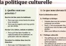 Trois piliers souhaitables pour nos politiques culturelles
