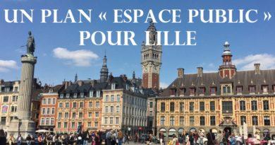 Un plan «Espace public» pour la ville de Lille