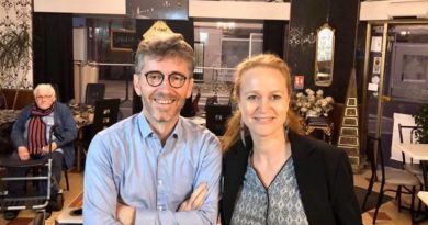 Thomas Werquin, fondateur de Axe Culture, soutient Violette Spillebout, candidate à la mairie de Lille