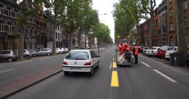 Précipitation et manque de conviction pour le vélo à Lille